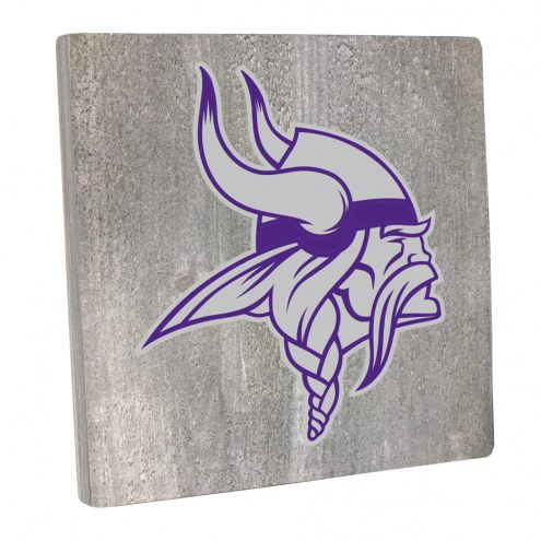 Minnesota Vikings Vintage Square Wall Sign