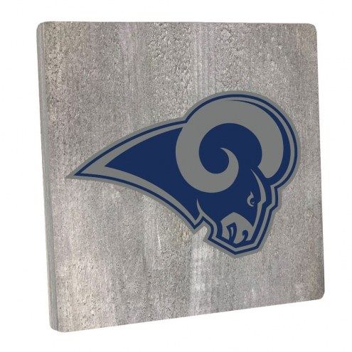 Los Angeles Rams Vintage Square Wall Sign