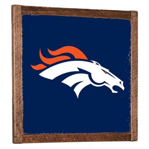 Denver Broncos Vintage Wall Art