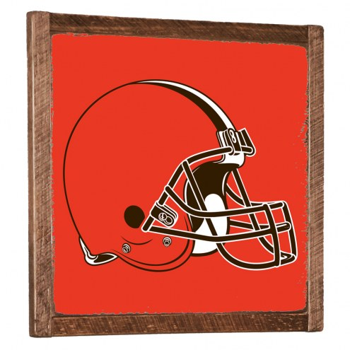 Cleveland Browns Vintage Wall Art