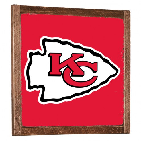 Kansas City Chiefs Vintage Wall Art
