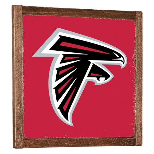 Atlanta Falcons Vintage Wall Art