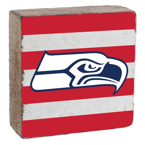 Seattle Seahawks Rustic Block