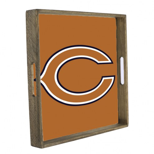 Chicago Bears Wooden Tray