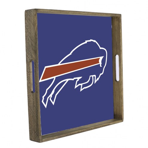 Buffalo Bills Wooden Tray