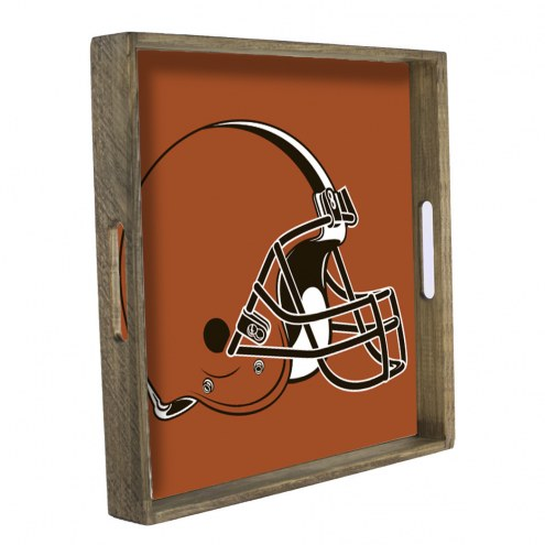 Cleveland Browns Wooden Tray