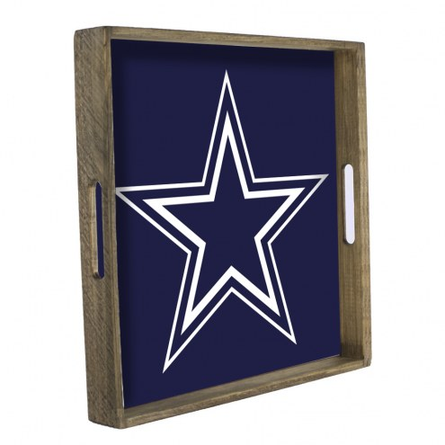 Dallas Cowboys Wooden Tray