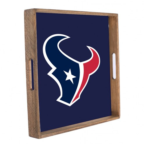 Houston Texans Wooden Tray