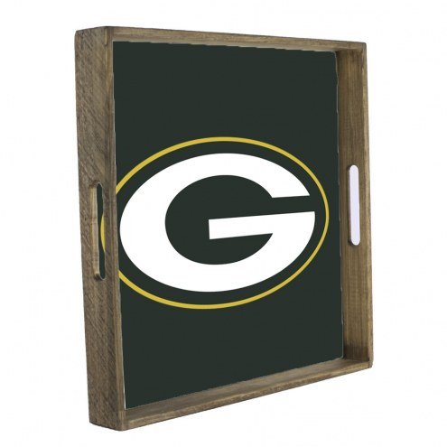 Green Bay Packers Wooden Tray