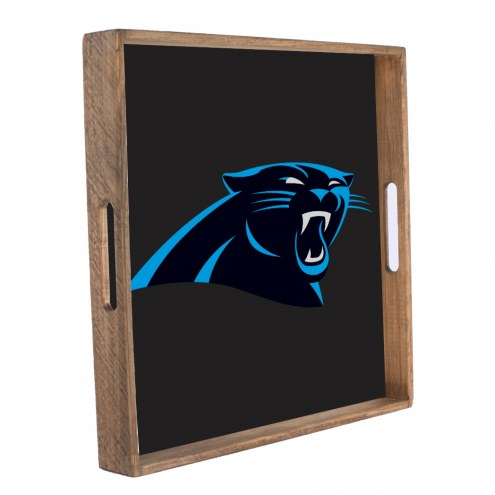Carolina Panthers Wooden Tray