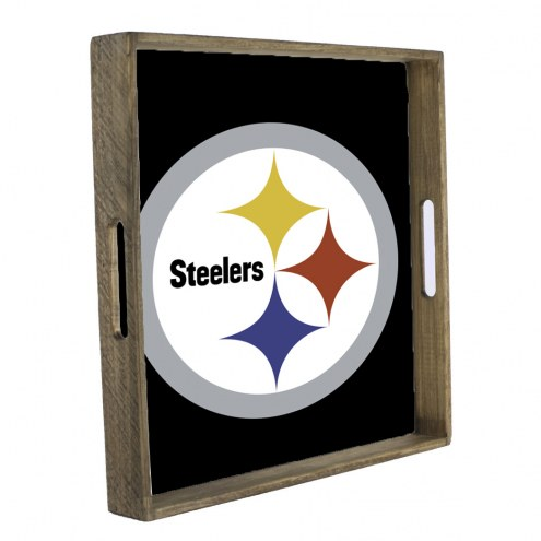 Pittsburgh Steelers Wooden Tray