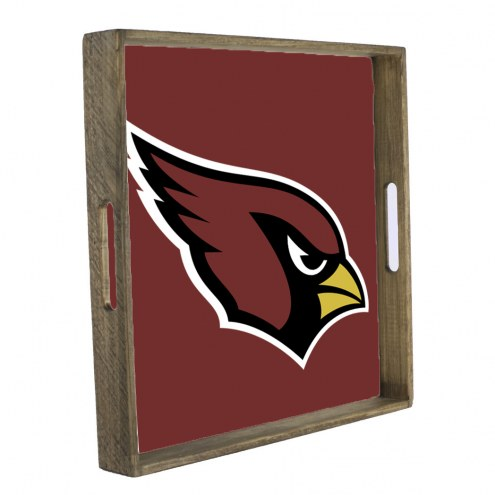 Arizona Cardinals Wooden Tray