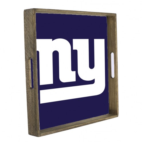 New York Giants Wooden Tray