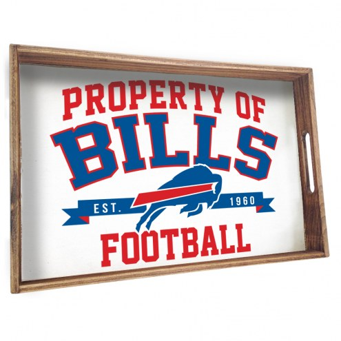 Buffalo Bills Wooden Serving Tray