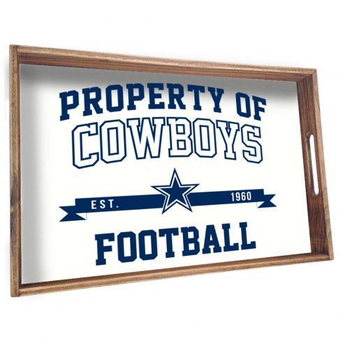 Dallas Cowboys Wooden Serving Tray