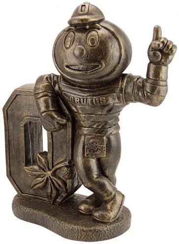 """Ohio State """"Brutus Buckeye"""" Stone College Mascot"""