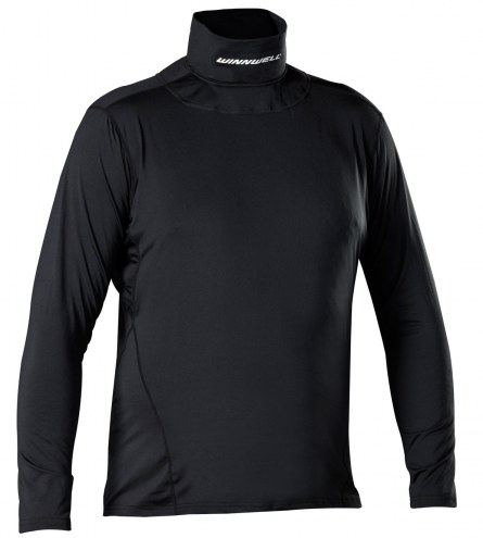 Winnwell Youth Base Layer Top with Neck Guard