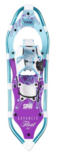 Yukon Charlie's Advanced Float Spin Women's Snowshoes