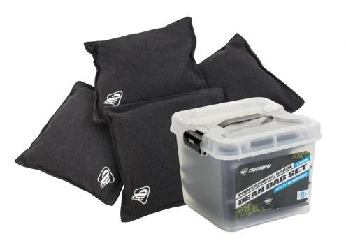 Triumph 16oz Canvas Duck Cloth Bean Bags with Tub - 4-Pack