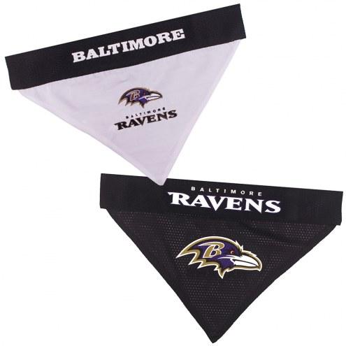 Baltimore Ravens Reversible Dog Bandana
