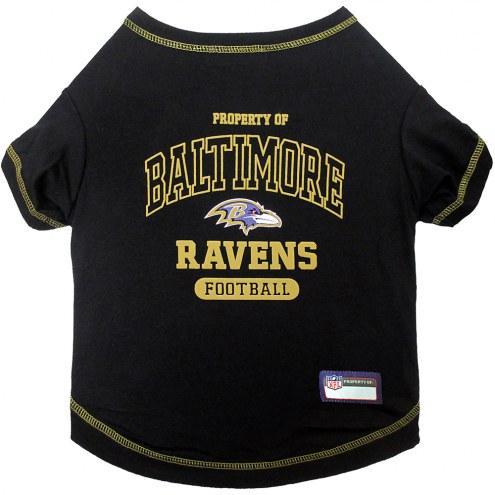 Baltimore Ravens Dog Tee Shirt