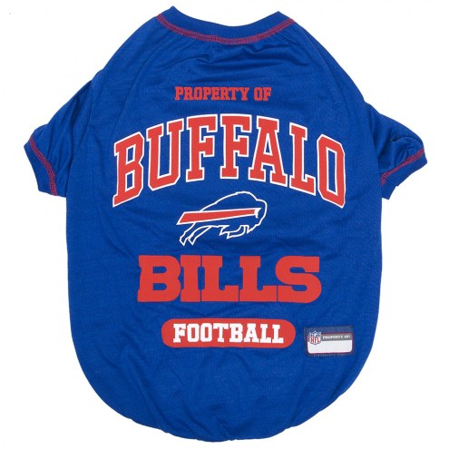 Buffalo Bills Dog Tee Shirt