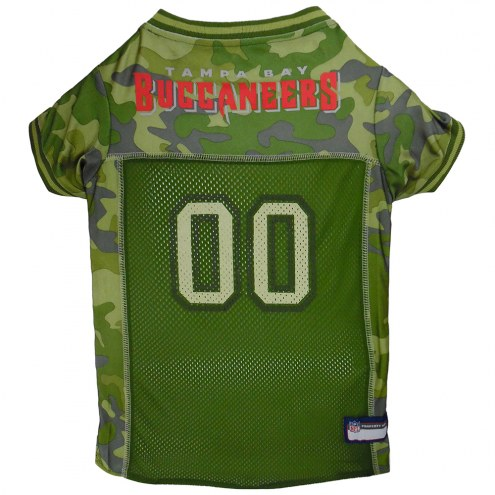 Tampa Bay Buccaneers Camo Dog Football Jersey