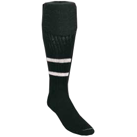 Kwik Goal 2 Stripe Soccer Referee Socks
