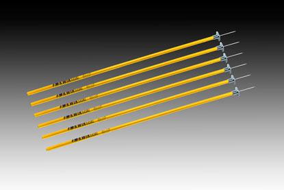 Kwik Goal Coaching Sticks - 6 Set