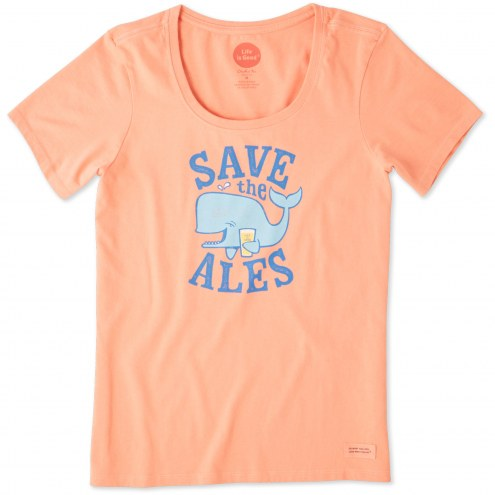 Life is Good Save the Ales! Crusher Women's T-Shirt