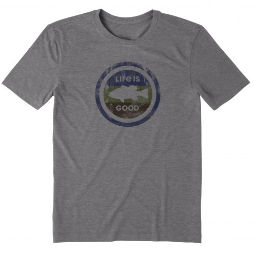 Life is Good Men's Fish Coin Cool T-Shirt