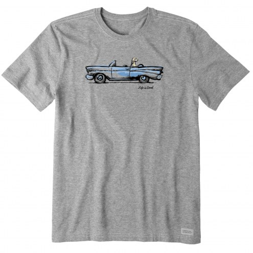 Life is Good Men's Air Conditioning Crusher T-Shirt