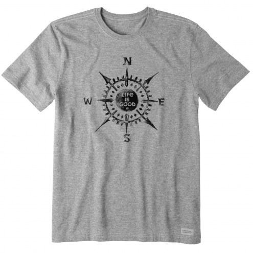 Life is Good Men's Life Is Good Compass Crusher T-Shirt