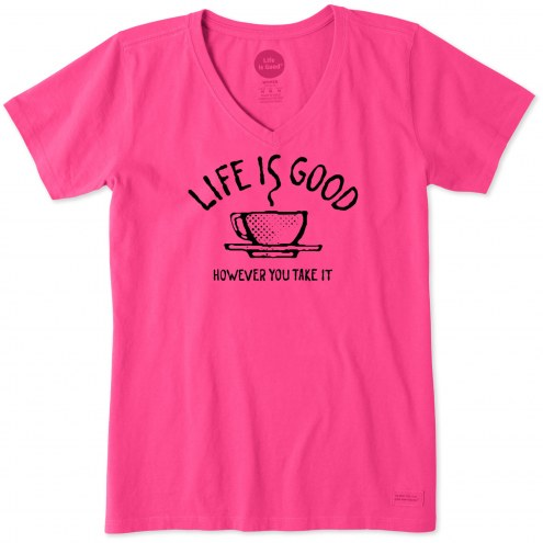 Life is Good Women's How Ever You Take It Crusher Vee T-Shirt