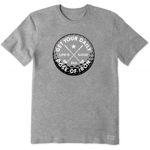 Life is Good Men's Daily Dose of Iron Crusher T-Shirt