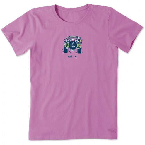 Life is Good Women's All in ATV Vintage Crusher T-Shirt