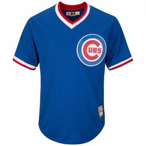 Chicago Cubs Cooperstown Royal Replica Baseball Jersey