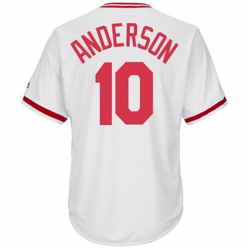 Cincinnati Reds Sparky Anderson Cooperstown Replica Baseball Jersey