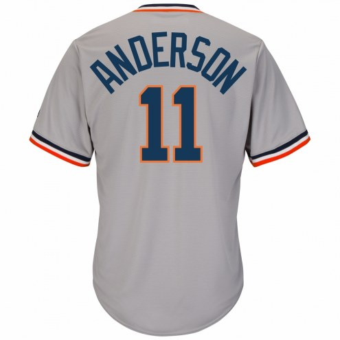 Detroit Tigers Sparky Anderson Cooperstown Replica Baseball Jersey