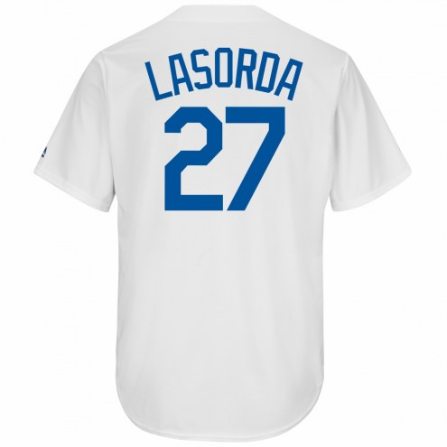 Los Angeles Dodgers Tommy Lasorda Cooperstown Replica Baseball Jersey