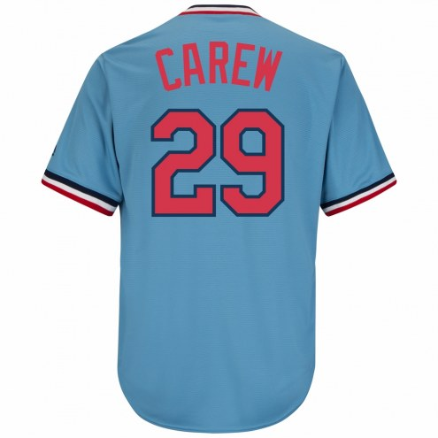 Minnesota Twins Rod Carew Cooperstown Replica Baseball Jersey