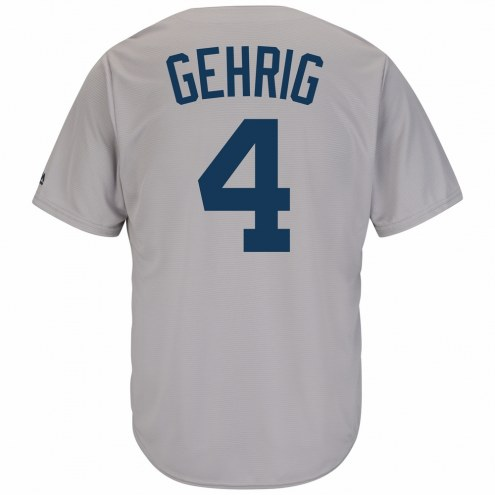 New York Yankees Lou Gehrig Cooperstown Replica Baseball Jersey