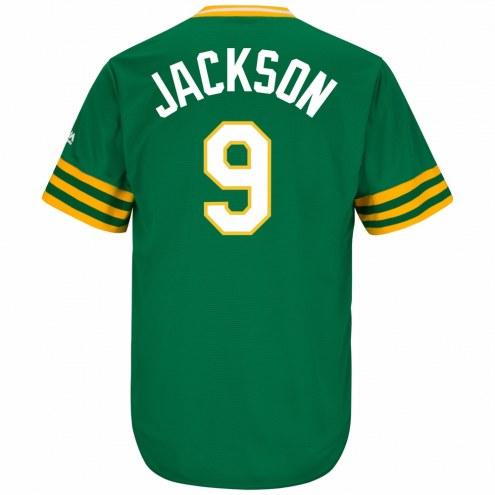 Oakland Athletics Reggie Jackson Cooperstown Replica Baseball Jersey 16dfdfed136