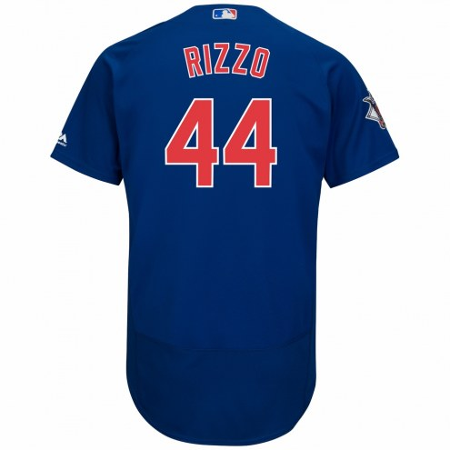 Chicago Cubs Anthony Rizzo Authentic Royal Alternate Baseball Jersey