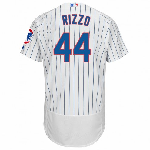 Chicago Cubs Anthony Rizzo Authentic Home Baseball Jersey
