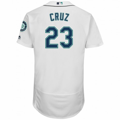 Seattle Mariners Nelson Cruz Authentic Home Baseball Jersey