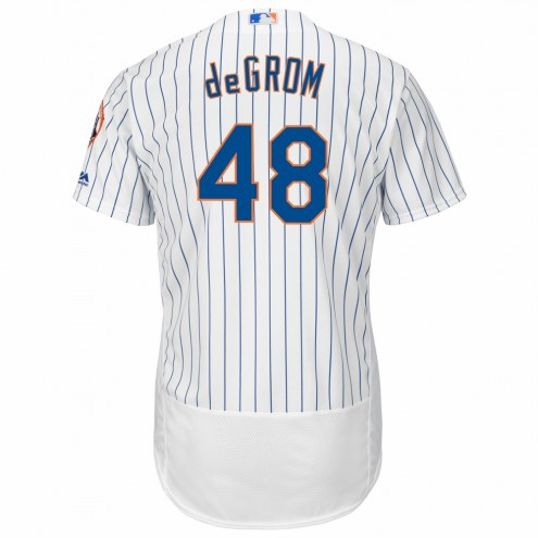 New York Mets Jacob deGrom Authentic Home Baseball Jersey