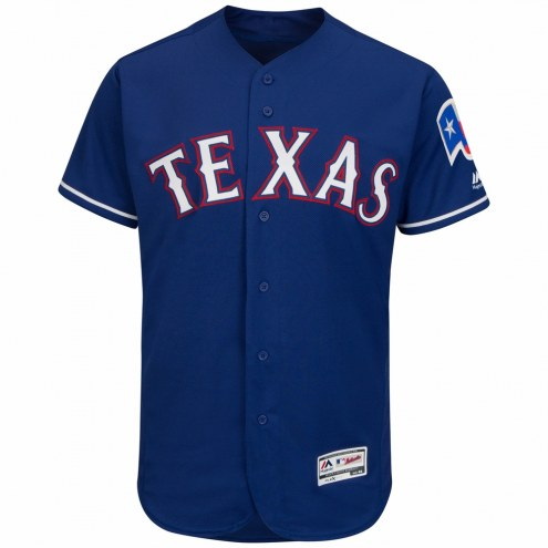 Texas Rangers Authentic Royal Alternate Baseball Jersey
