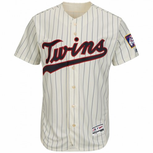 Minnesota Twins Authentic Cream Alternate Baseball Jersey