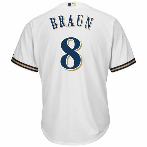 Milwaukee Brewers Ryan Braun Replica Home Baseball Jersey
